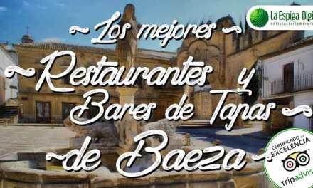 Los mejores restaurantes  y bares de tapas en Baeza
