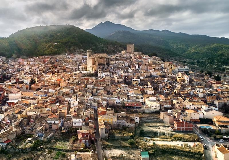Los 5 Pueblos más turísticos de Murcia en Internet en 2018