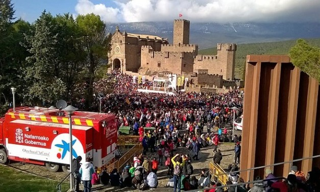 Las Javieradas 2020, la peregrinación al Castillo de Javier