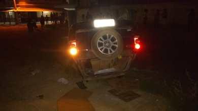 Photo of Carro capota após ser atingido por outro veículo no bairro Brasil
