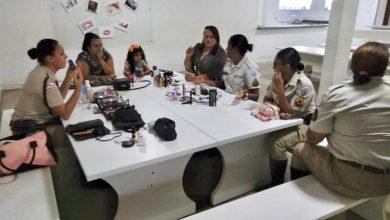 Photo of Polícia Rodoviária Estadual faz tarde make em comemoração aos 30 anos da mulher na PM da Bahia