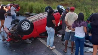Photo of Carro capota no extremo sul do estado e motorista é internado em hospital