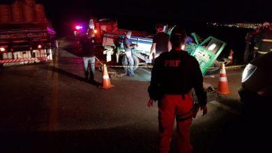 Photo of Um homem morre e outro fica ferido em acidente no anelviário; confira o vídeo