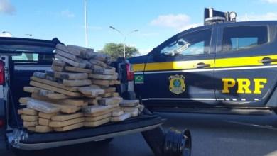 Photo of Homem é preso com mais de 100kg de maconha em carroceria de Strada em Jequié