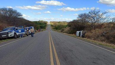 Photo of Sobe para dois o número de mortos em acidente próximo a Dom Basílio
