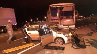 Photo of Acidente entre ônibus e carro de passeio deixa feridos na região