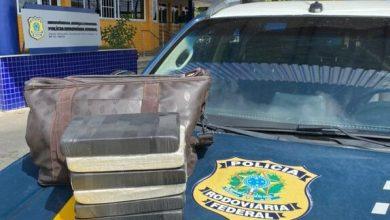 Photo of Jovem de 23 anos é presa com sacola cheia de cocaína em ônibus em Conquista