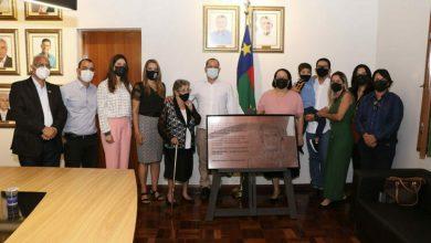 Photo of Conquista: Em solenidade restrita, família recebe homenagem feita a Herzem Gusmão