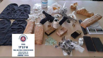 Photo of Região: Polícia detalha operação que resultou em duas mortes e apreensão de toucas ninjas, pistolas e drogas