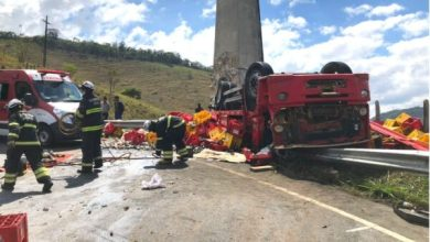 Photo of Conquista: Polícia divulga novas informações sobre acidente com caminhão de cerveja; quatro pessoas ficaram feridas