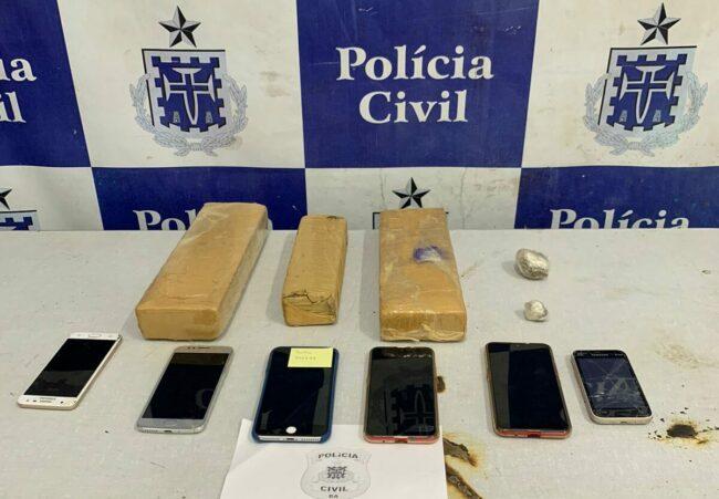 Photo of Jequié: Três integrantes da mesma facção são presos com drogas em grande operação