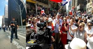 Activista de Marcha Verde en Nueva York se queja que no los dejan caminar en el desfile dominicano