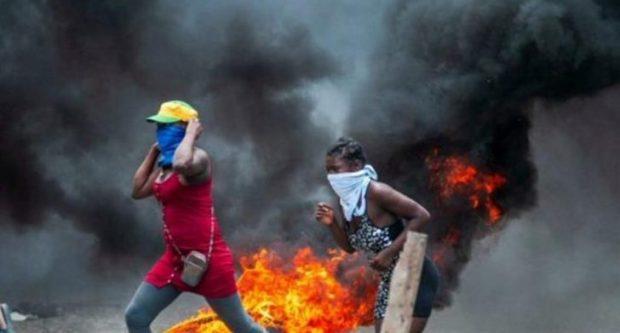 Protesta-Haití