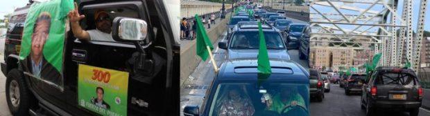 SELNY efectúa caravana en NYC para honrar padres dominicanos