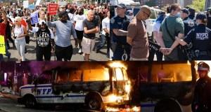 Violencia estremece EE.UU por muerte afroamericano_ en NYC se siente con fuerza