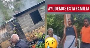 familia-queda-en-la-calle-al-incendiarse-su-vivienda-en-villa-riva