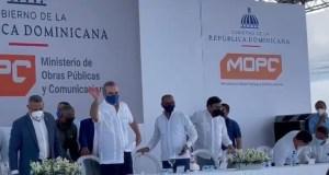 luis-abinader-inaugura-carretera-en-villa-riva-arenoso-por-un-monto-superior-a-rd-95-millones-de-pesos