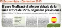 El paro por debajo del 27%