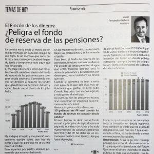 ¿Peligra el fondo de reserva de las pensiones? –Siembra 405
