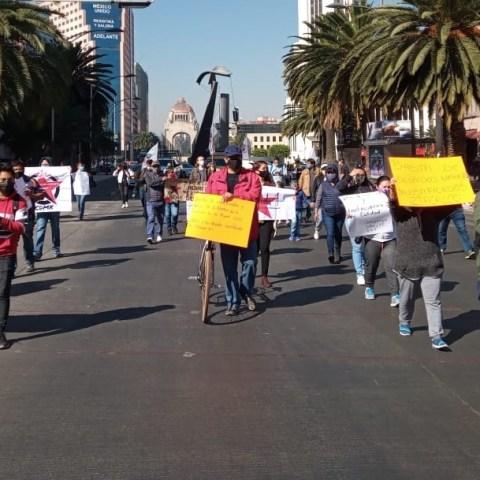 marchas en la ciudad de méxico noticieros televisa