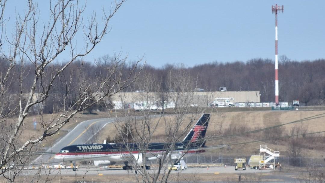 Avión de Donald Trump se encuentra abandonado en Nueva York