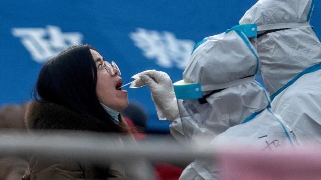 China, pruebas, coronavirus, extranjeros, COVID19
