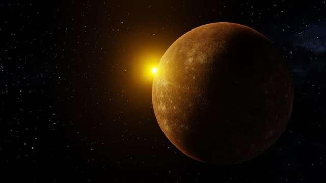 Elongación, Mercurio, Júpiter, conjunción, imagen ilustrativa