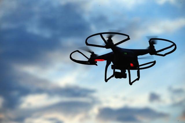 Dron vuelo