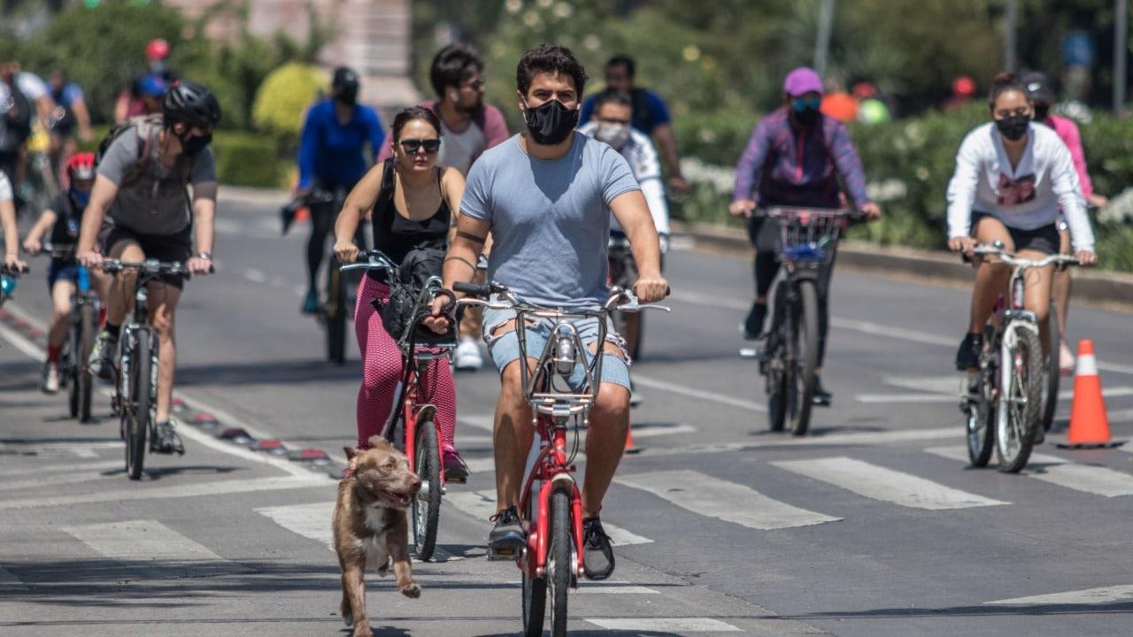 """El paseo dominical """"Muévete en Bici"""" ampliará su ruta"""