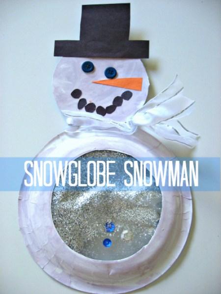 Snowglobe Snowman