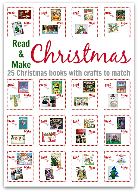 Read Amp Make Christmas 25 Christmas Books With Crafts To