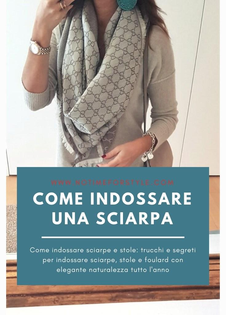 Come indossare una sciarpa o una stola