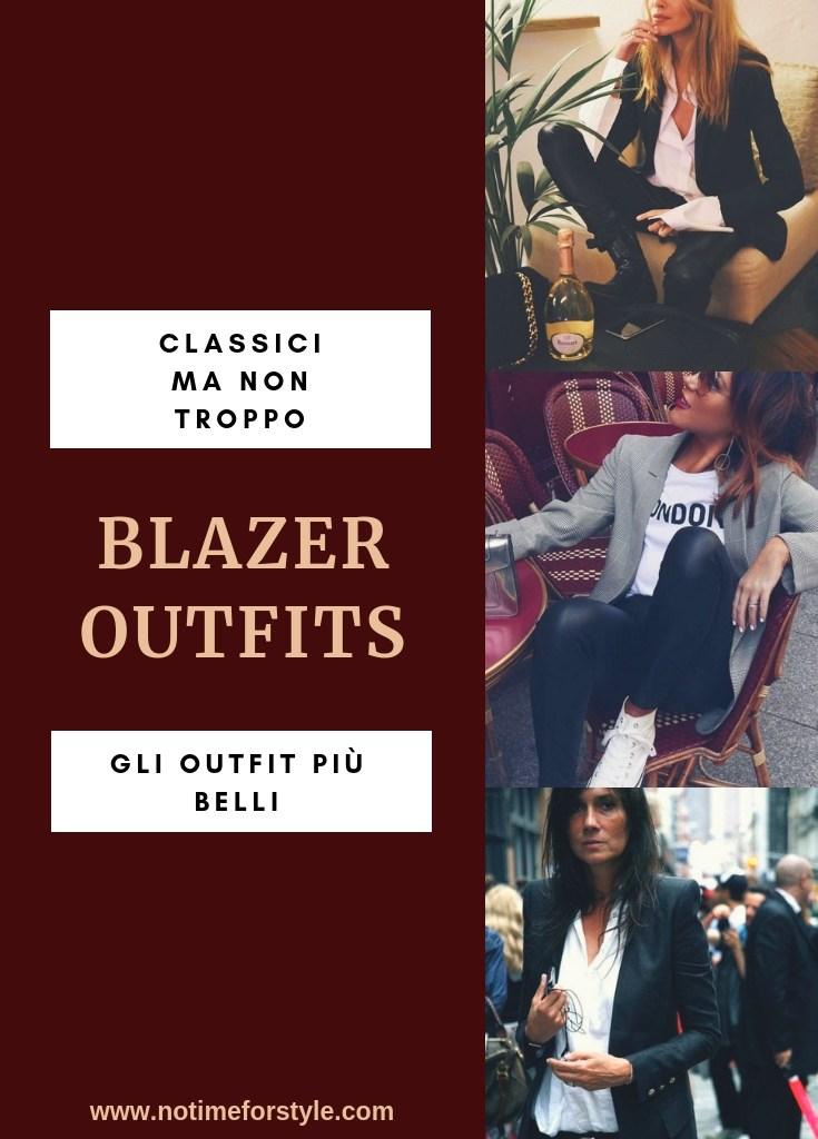 Blazer donna: classici ma non troppo