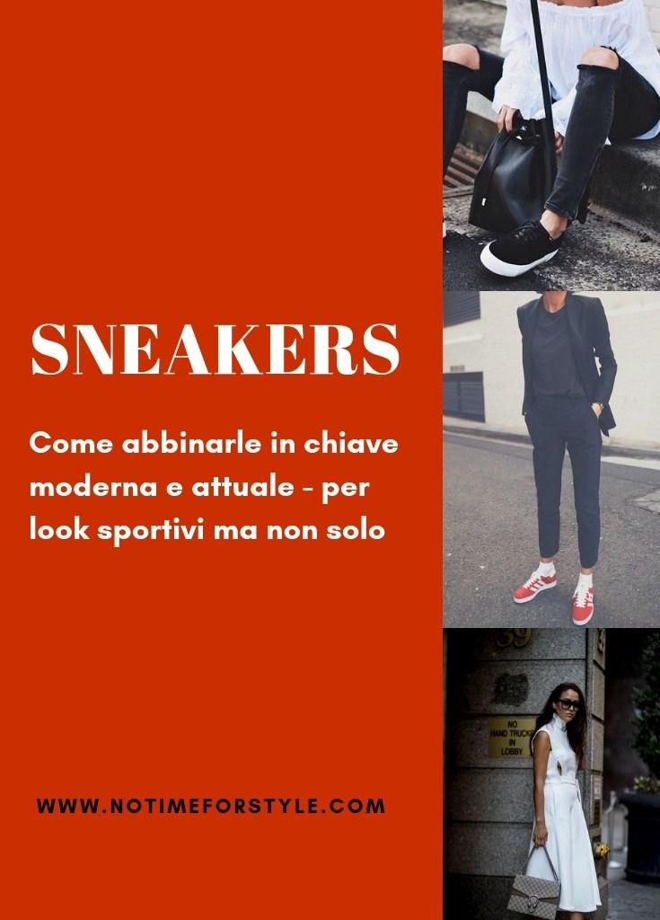 Classiche ma non troppo: le sneakers
