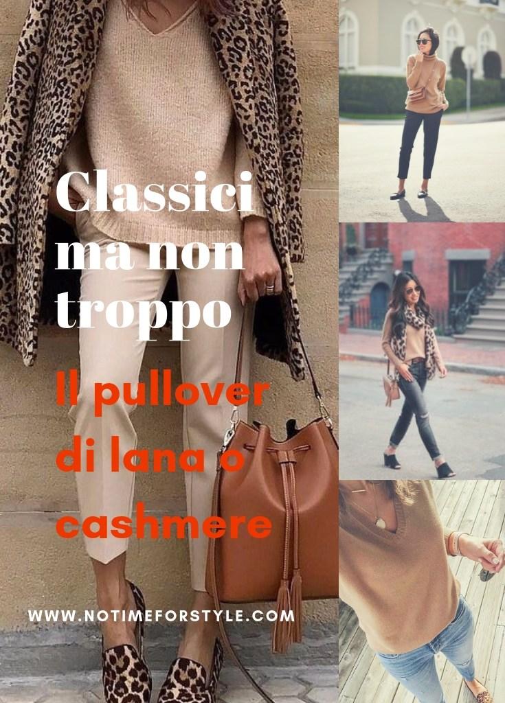 Classici ma non troppo: la maglia di cachemire e sette modi per abbinarla