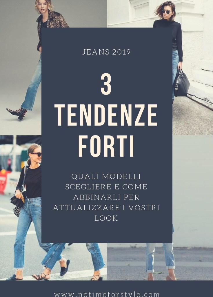 Jeans 2019: tre tendenze forti di questa stagione