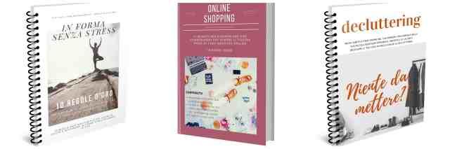 Declutterare l'armadio. dimagrire senza stress. Come fare shopping online.