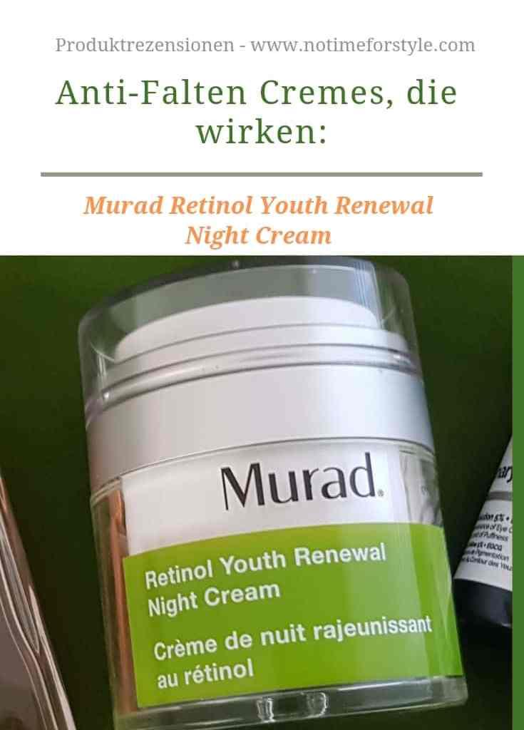 Anti-Falten Cremes, die wirken: Murad Retinol Youth Renewal Creme