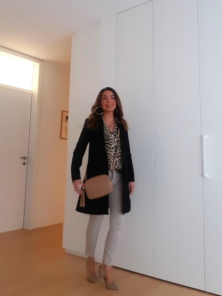 Frühling-Sommer-Mode 2019: die Leoparden-Bluse