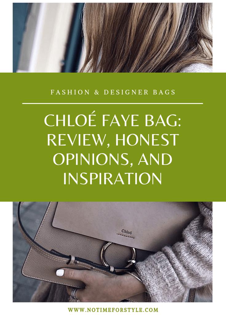 Chloé Faye Bag: review