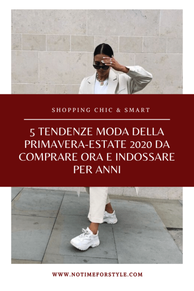 tendenze moda primavera estate 2020