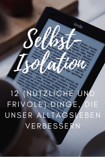 Selbst-Isolation zu Hause was kaufen