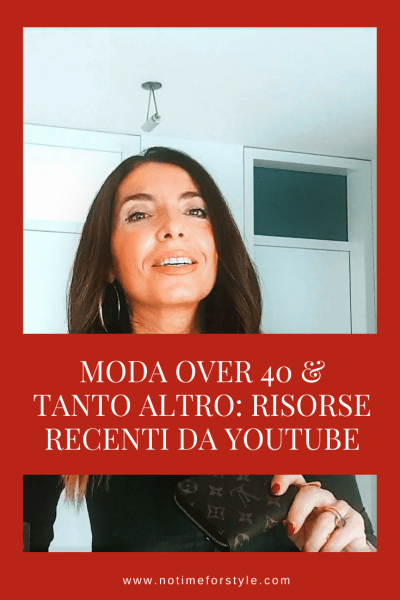 canale youtube di no time for style
