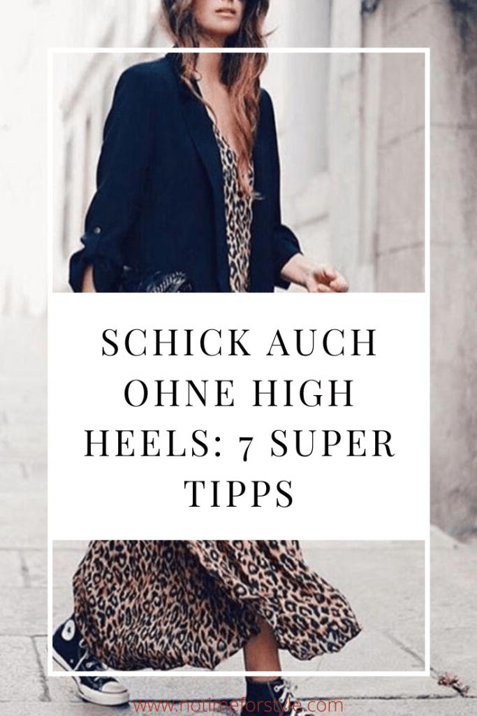 Schick auch ohne High Heels: 7 super Tipps
