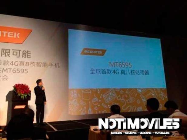 MT6595 Mediatek Presentación en Shenzhen 1
