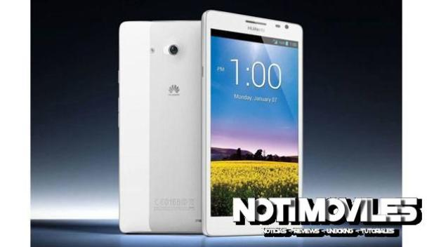 Huawei Ascend Mate 7 bateria 4100 mAh en 7.9mm