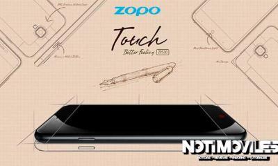 ZOPO ZP530 Viene con Pantalla 2.5D (Curvo)