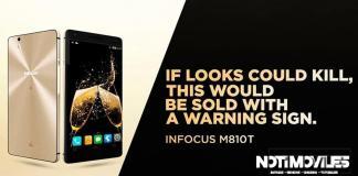 Infocus M810T Elegante con grandes caracteriscas