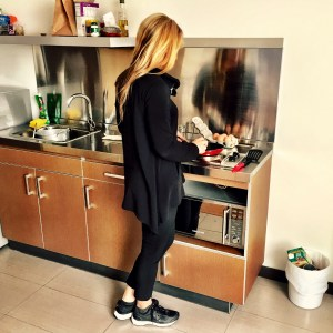 Cooking in a hotel kitchen to save money