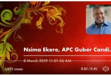 PDP Leaked Audio Conversation of Akwa Ibom APC Candidate with Militant to Disrupt Saturday Election
